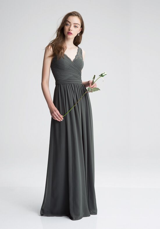 Bill Levkoff 1410 V-Neck Bridesmaid Dress
