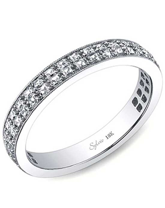 Since1910 SY155B White Gold Wedding Ring