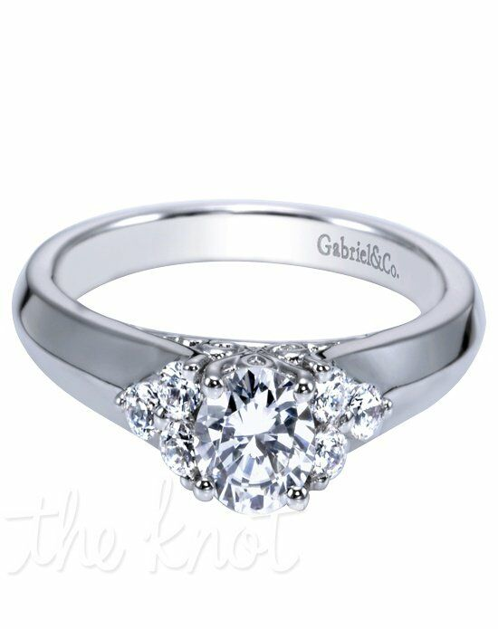 Adore by Gabriel & Co. W-ER8543D4 White Gold Wedding Ring