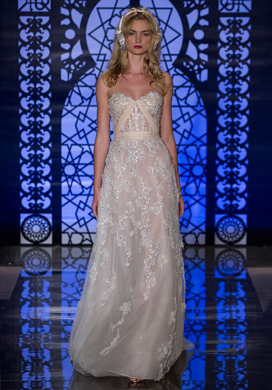 Reem Acra Delphine A-Line Wedding Dress