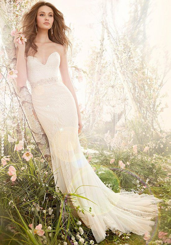 Jim Hjelm 8410 A-Line Wedding Dress