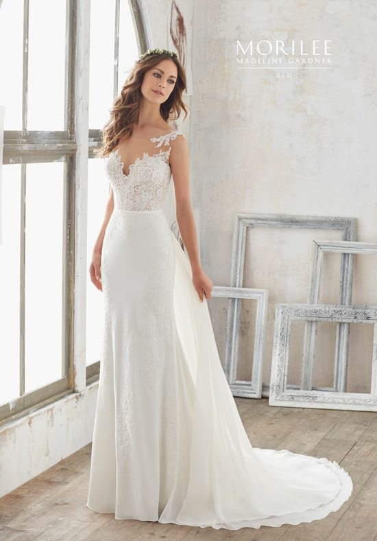 Morilee by Madeline Gardner/Blu 5503 A-Line Wedding Dress