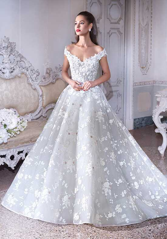 Platinum by Demetrios DP385 - Belle Ball Gown Wedding Dress