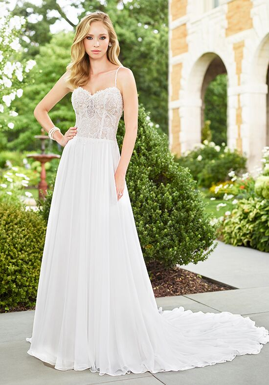 Enchanting by Mon Cheri 118133 A-Line Wedding Dress