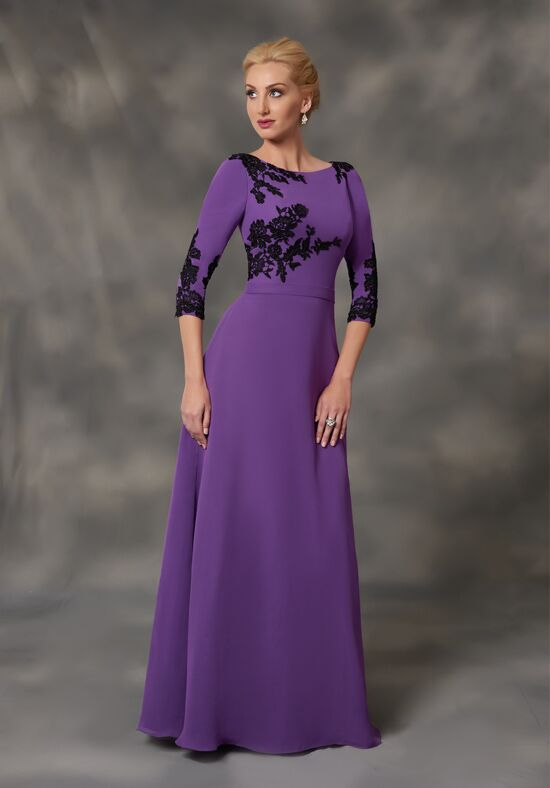 Mary's Beautiful Mothers M2769 Black Mother Of The Bride Dress
