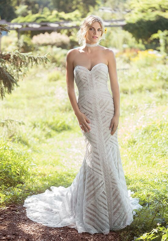 Lillian West 6492 Mermaid Wedding Dress