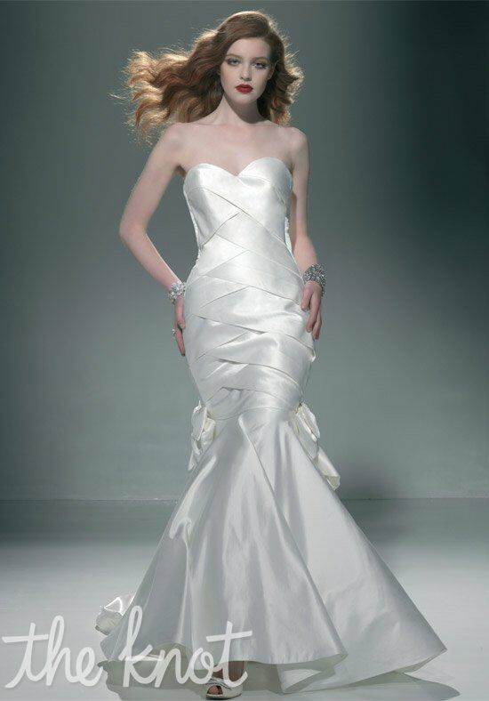 Justin Alexander Signature 9666 Mermaid Wedding Dress