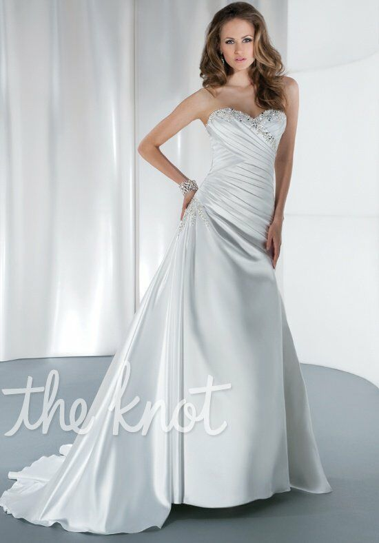 Demetrios 4303 A-Line Wedding Dress