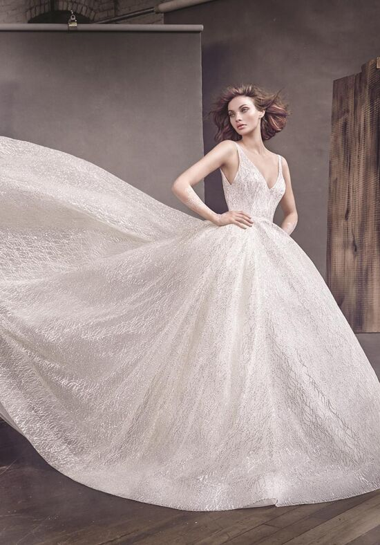 Lazaro 3662 Wedding Dress The Knot