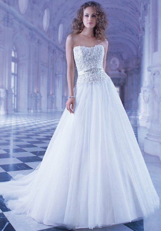 Demetrios GR244 A-Line Wedding Dress