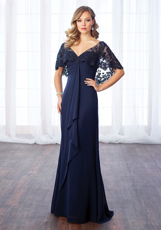 Cameron Blake 217643 Blue Mother Of The Bride Dress