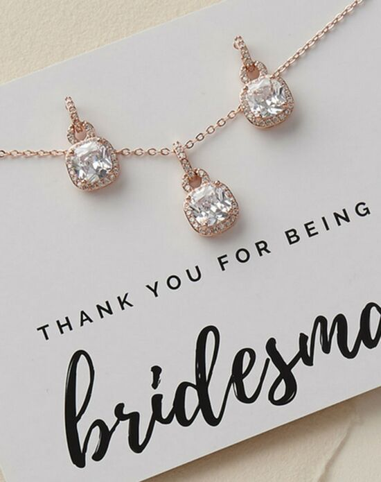 USABride Catalina Bridesmaid Jewelry Set (JS-1610) Wedding Necklace photo