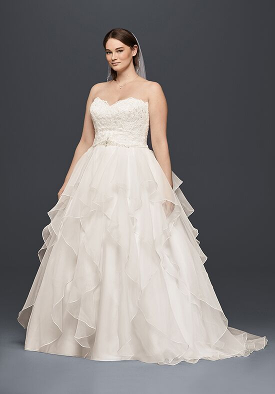 David's Bridal David's Bridal Collection Style 9WG3830 Ball Gown Wedding Dress