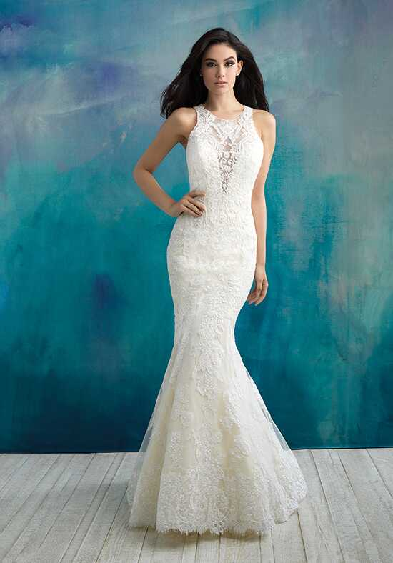 Allure Bridals 9504 Sheath Wedding Dress