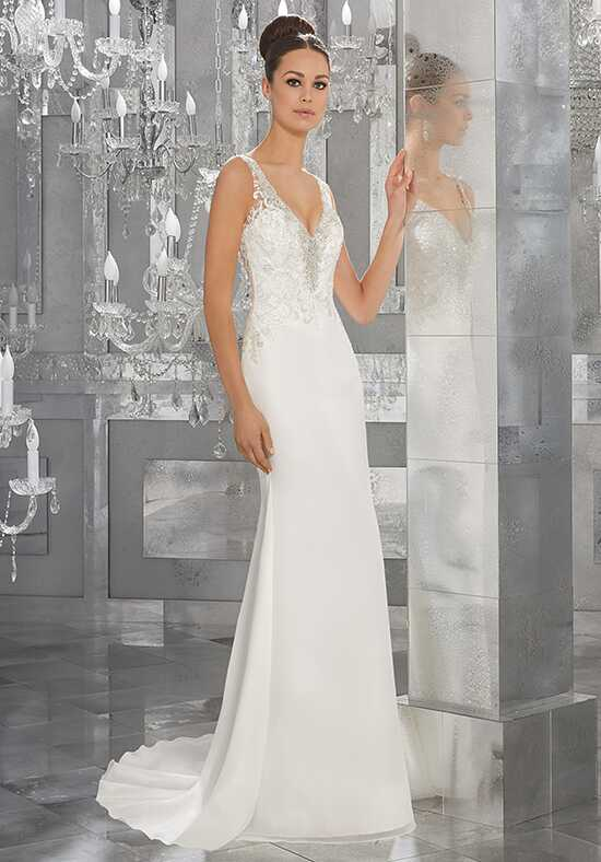 Morilee by Madeline Gardner/Blu Myka | Style 5564 Sheath Wedding Dress