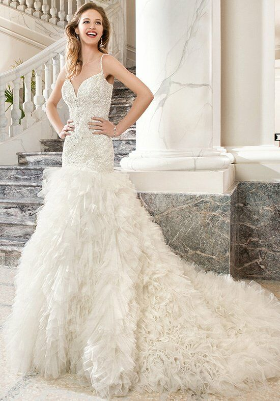 Demetrios C204 Mermaid Wedding Dress