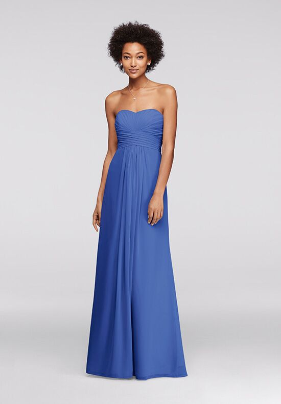 David's Bridal Collection David's Bridal Style F15555 Strapless Bridesmaid Dress