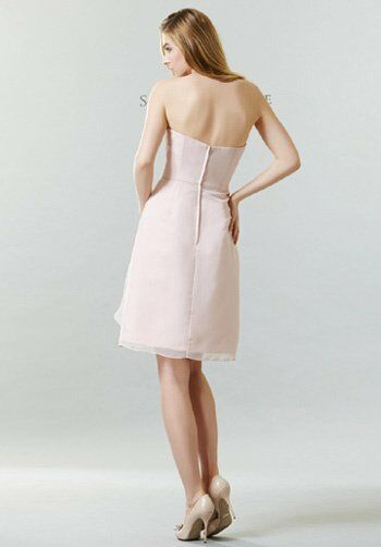 Saison Blanche Bridesmaids SB2246 Scoop Bridesmaid Dress
