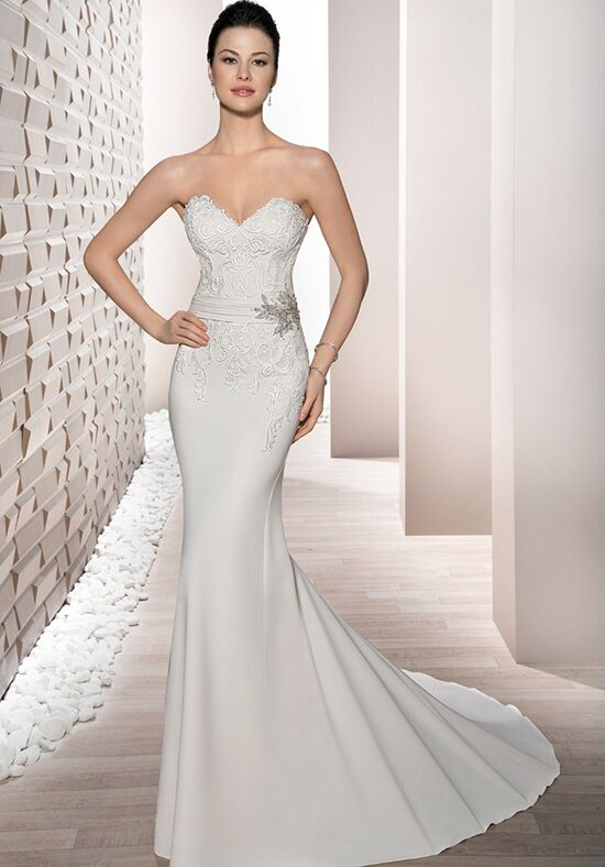 Demetrios 699 Sheath Wedding Dress
