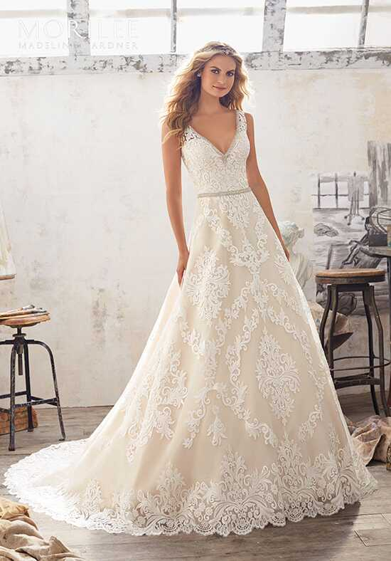 Morilee by Madeline Gardner Morgan/8124 A-Line Wedding Dress