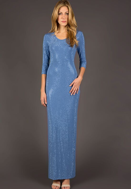 Grayse Wedding Party W1420423 Blue Mother Of The Bride Dress