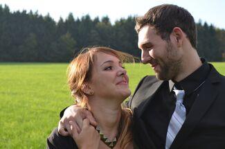 Britta Zimniok And Cody Hostetter Wedding Photo 1