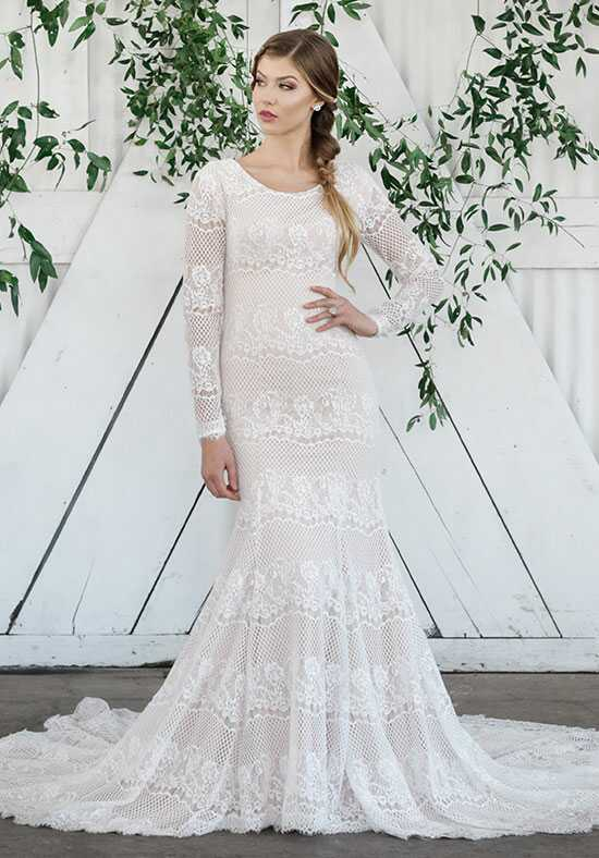 Modest by Mon Cheri TR21861 Mermaid Wedding Dress
