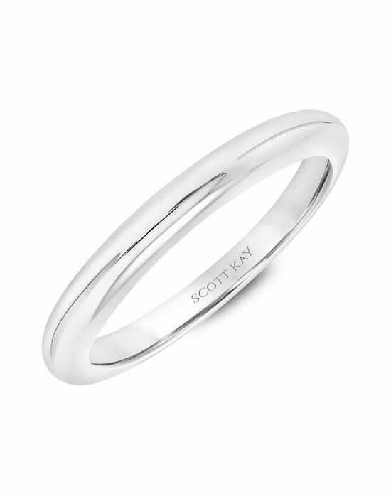 Scott Kay 31-SK5599W-L Platinum Wedding Ring