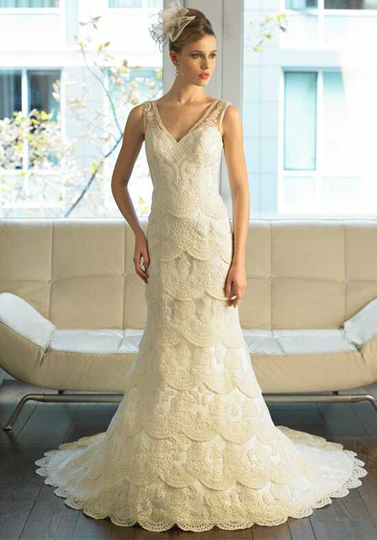 Moonlight Couture H1199 Mermaid Wedding Dress