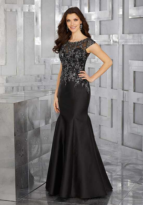 MGNY 71606 Black Mother Of The Bride Dress