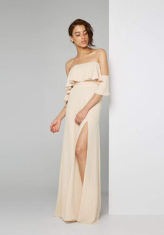 Fame and Partners Bridesmaid Rio Off the Shoulder Bridesmaid Dress