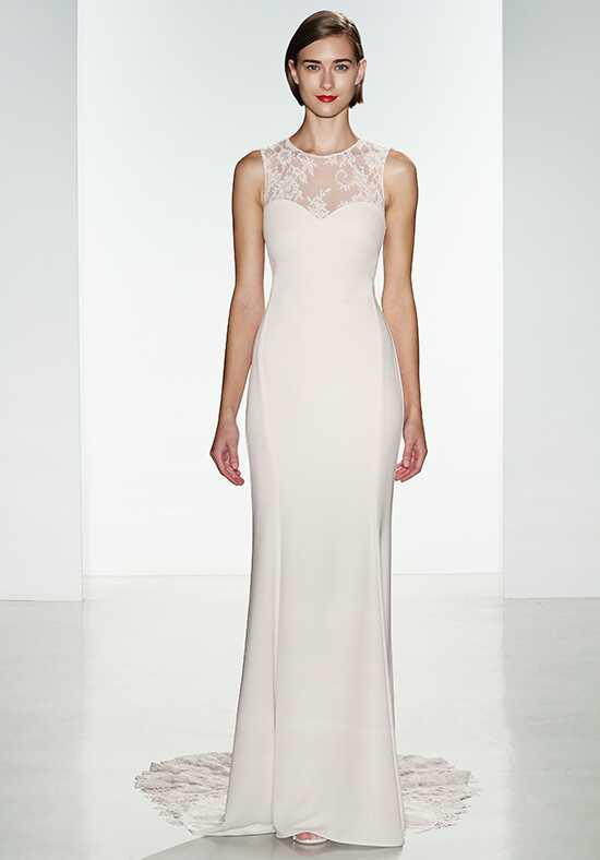 Nouvelle Amsale Myka Sheath Wedding Dress