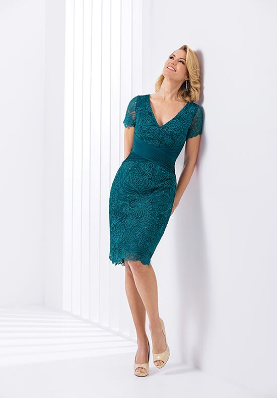 Jasmine Black Label M180061 Green Mother Of The Bride Dress