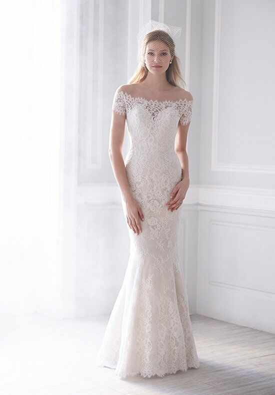 Madison James MJ166 Sheath Wedding Dress