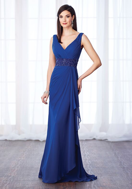 Cameron Blake 217641 Blue Mother Of The Bride Dress