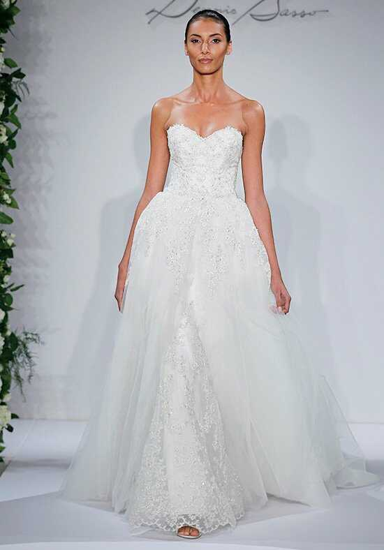 Dennis Basso for Kleinfeld 14044 Sheath Wedding Dress