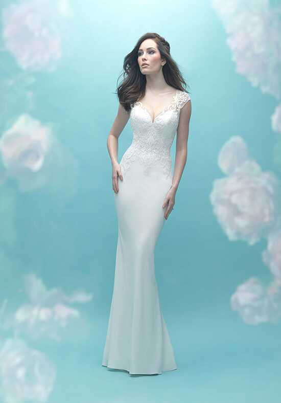 Allure Bridals 9469 Sheath Wedding Dress