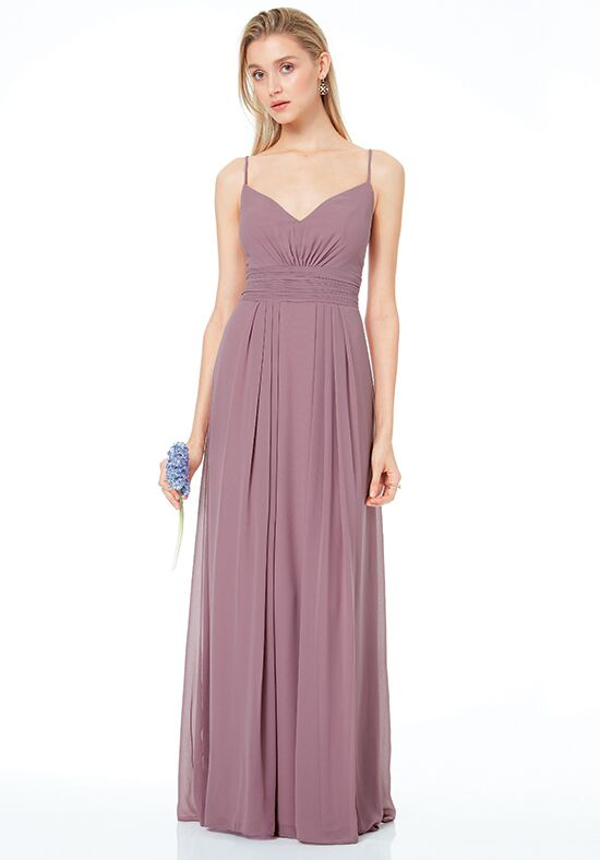 #LEVKOFF 7041 V-Neck Bridesmaid Dress