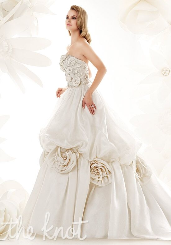 Simone Carvalli 90004 A-Line Wedding Dress