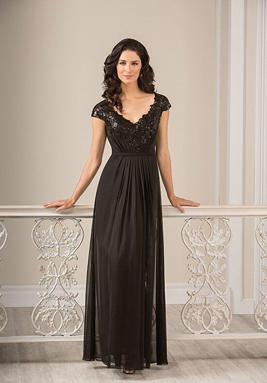 Jade J185007 Black Mother Of The Bride Dress