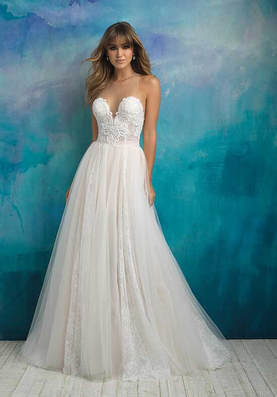 Allure Bridals 9505 A-Line Wedding Dress