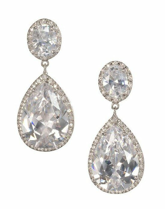 Anna Bellagio NADIA DRAMATIC BRIDAL DROP EARRING Wedding Earring photo