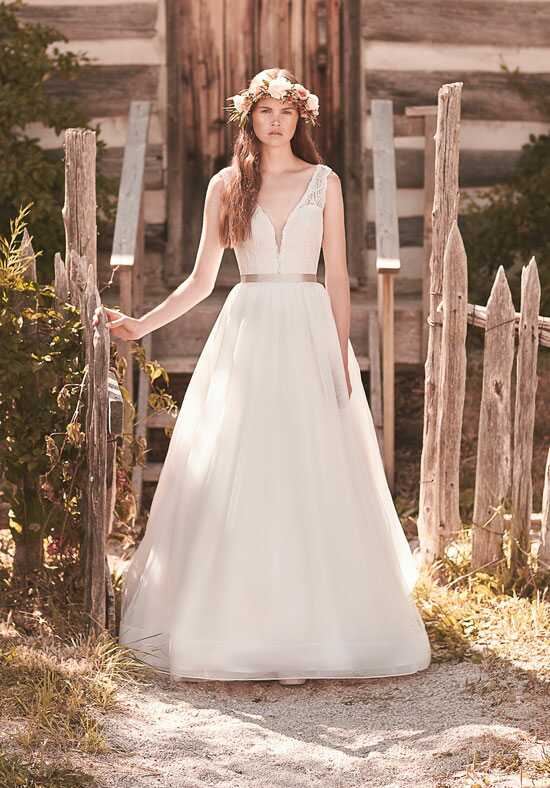 Mikaella 2063 A-Line Wedding Dress