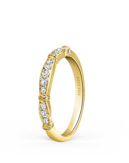 Kirk Kara Stella Collection K196Y-B Gold Wedding Ring