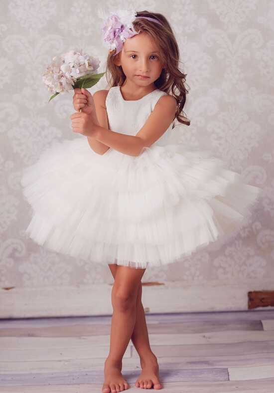 FATTIEPIE Scarlett Ivory Flower Girl Dress