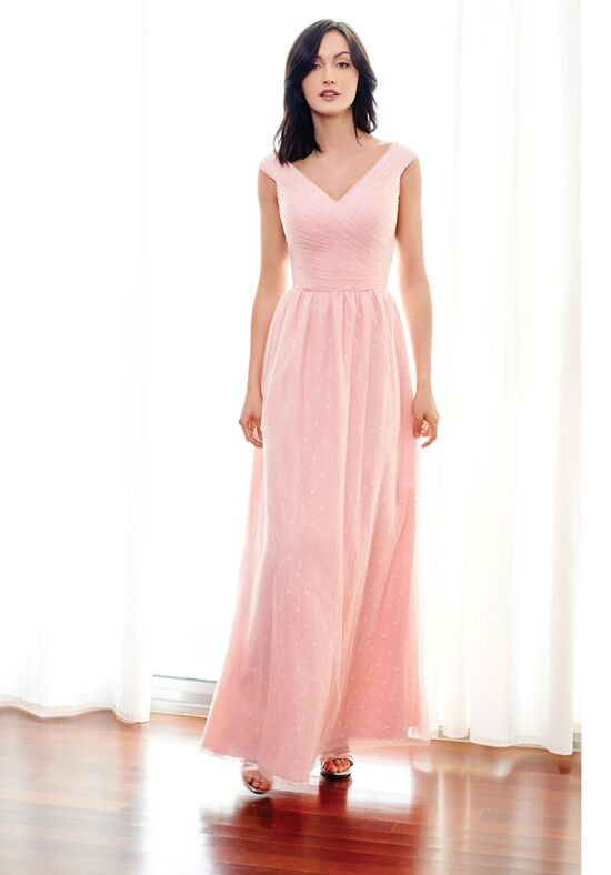 Colour by Kenneth Winston 5249L V-Neck Bridesmaid Dress