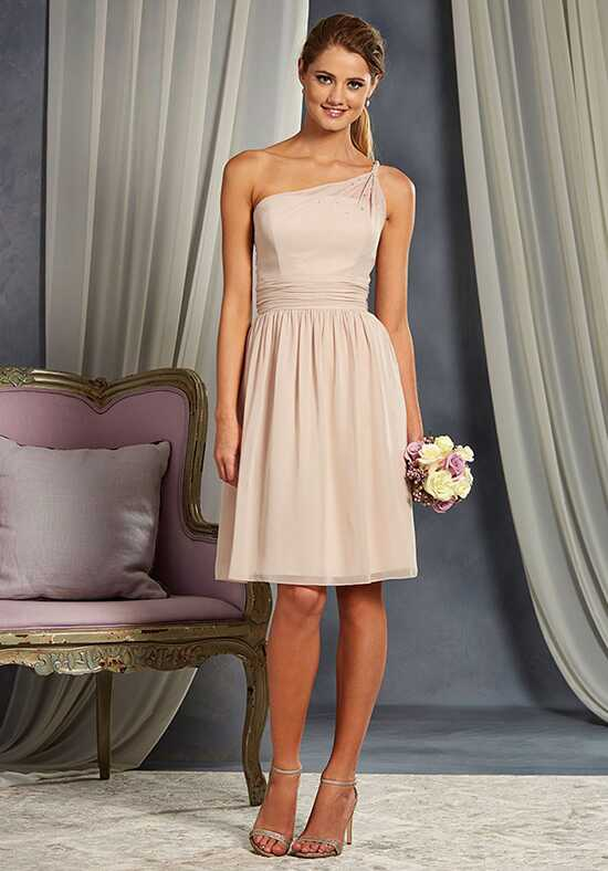 Alfred Angelo Signature Bridesmaids Collection 7369S One Shoulder Bridesmaid Dress