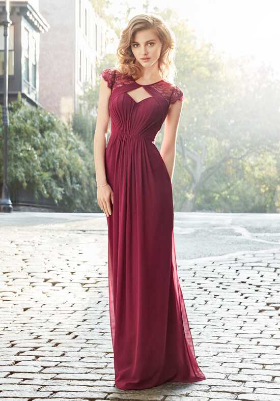 Hayley Paige Occasions 5709 V-Neck Bridesmaid Dress