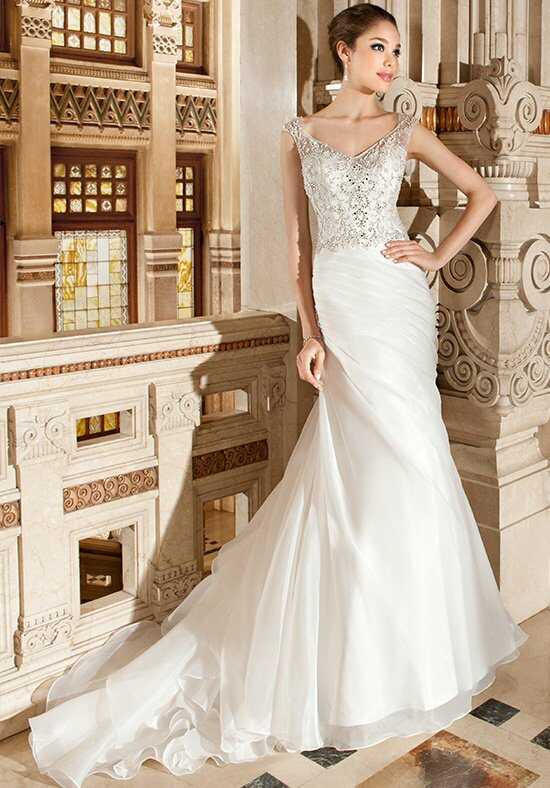 Demetrios 3218 Sheath Wedding Dress
