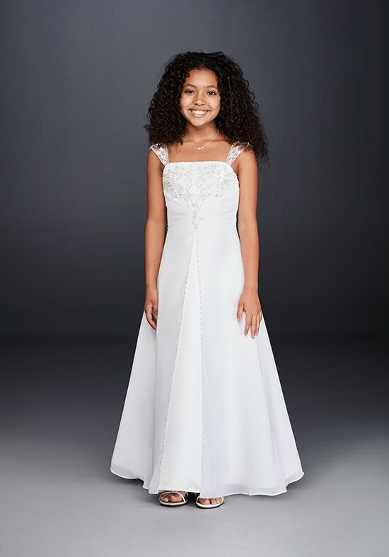Flower Girl Jersey Davids Bridal : David s bridal flower girl style fg